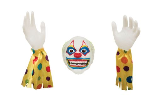 Halloween Evil Clown Ground Breaker for Trick Or Treat Party Decoration